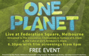 One Planet environmental event in Australia