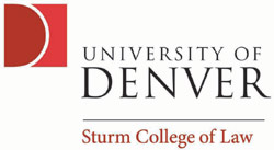 Image result for university of denver college of law logo image