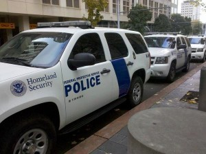 Homeland security outside grand jury investigating anarchists.