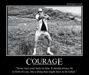 Hunter S. Thompson on Courage in Face of the Green Scare