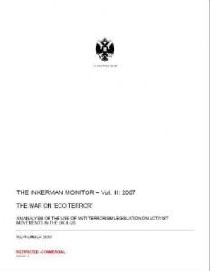 inkerman report on eco-terrorism
