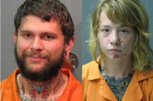 Kellie Marshall and Victor Vandoren arrested for fur farm raid in Iowa.