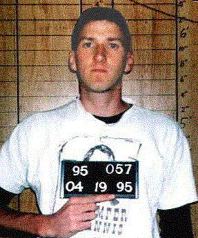 mcveigh not a terrorist?