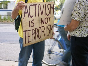 fbi raids peace groups not terrorism