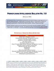 pennsylvania-intelligence-bulletin-no-131-aug-30-2010