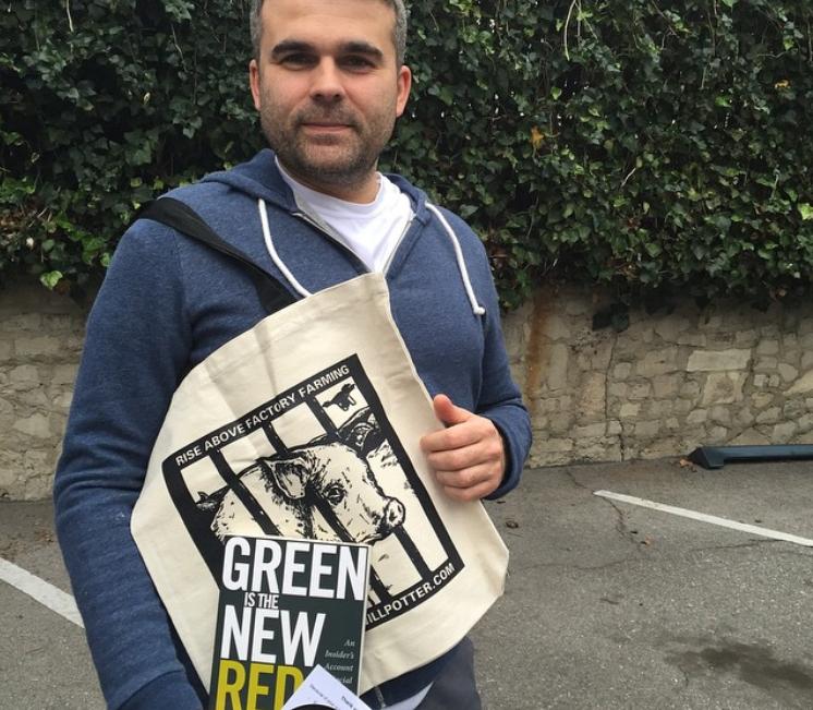 animal protection tote bag